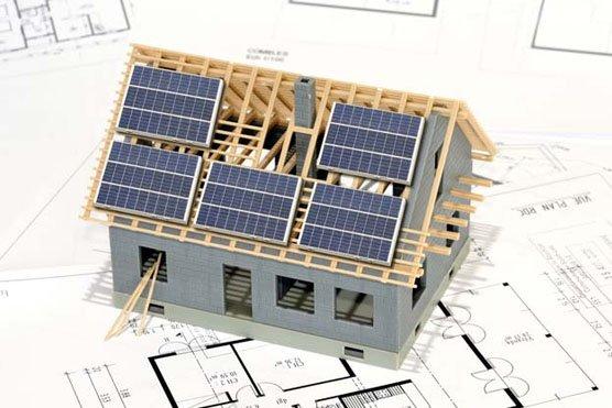 Plan panneaux solaire